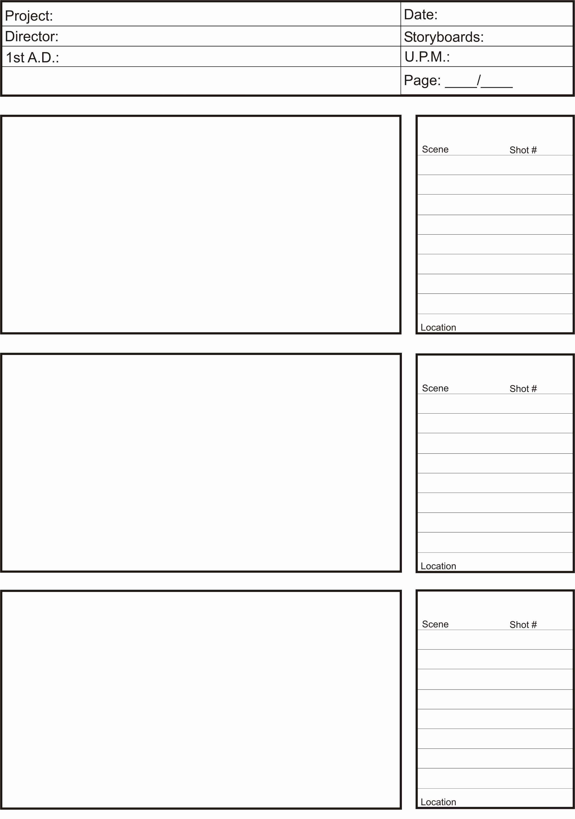 Film Story Board Template New Storyboards – Lm