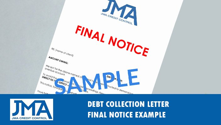 Final Demand Collection Letter Awesome Debt Collection Letter & Letter Of Demand Example Template