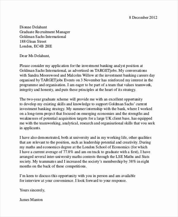Finance Cover Letter Sample Lovely 10 Finance Cover Letters Google Docs Ms Word Apple