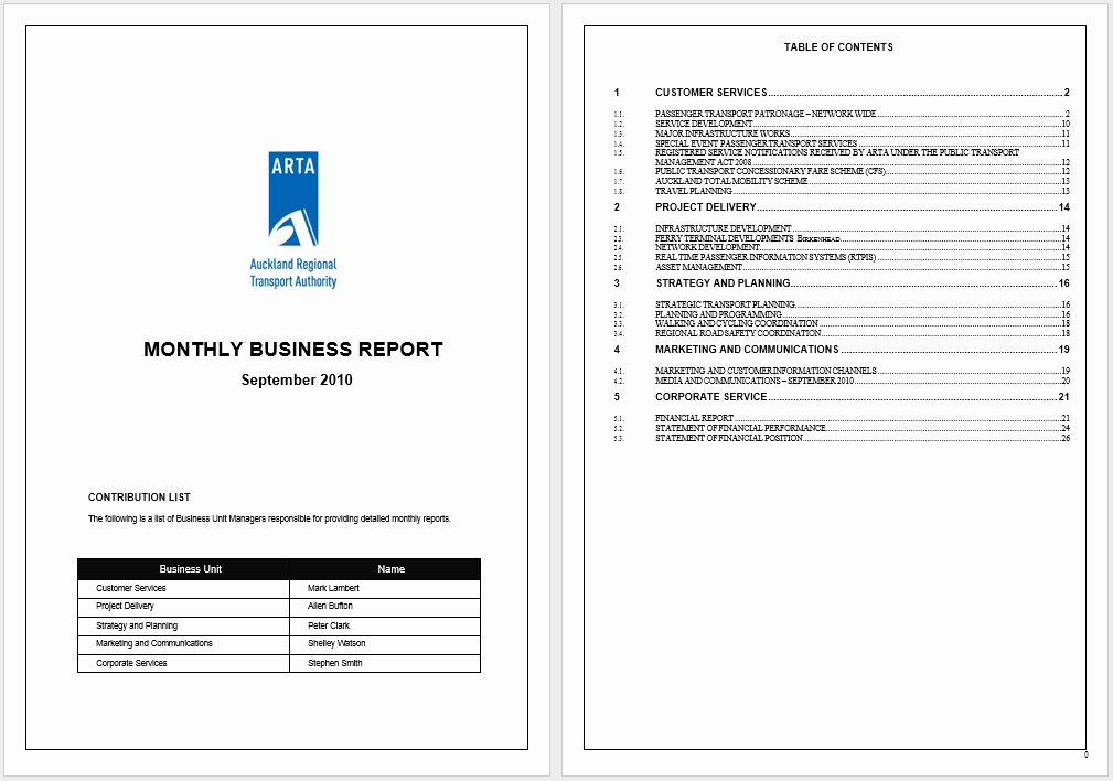 Financial Report Template Word Best Of 12 Free Annual Business Report Templates In Ms Word Templates