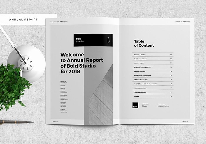 Financial Report Template Word Best Of 48 Best Annual Business Report Templates Psd Word