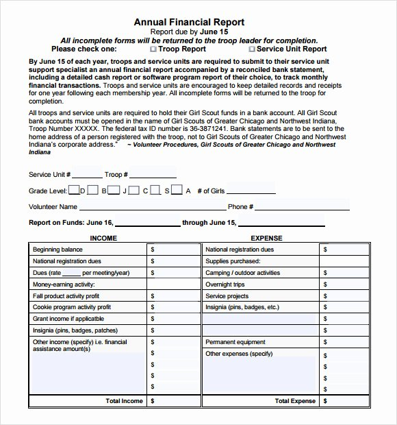 Financial Report Template Word Best Of Sample Financial Report 10 Documents In Pdf Word Docs