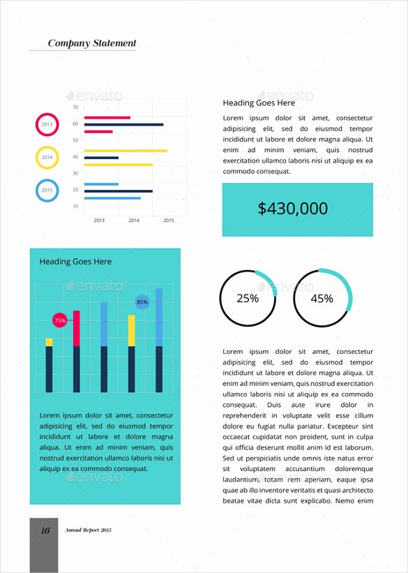 Financial Report Template Word Elegant 13 Annual Business Report Examples Pdf Word Pages