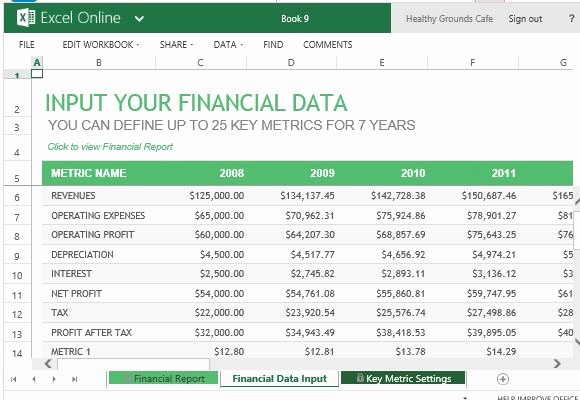 Financial Report Template Word Unique Annual Financial Report Template for Excel Line