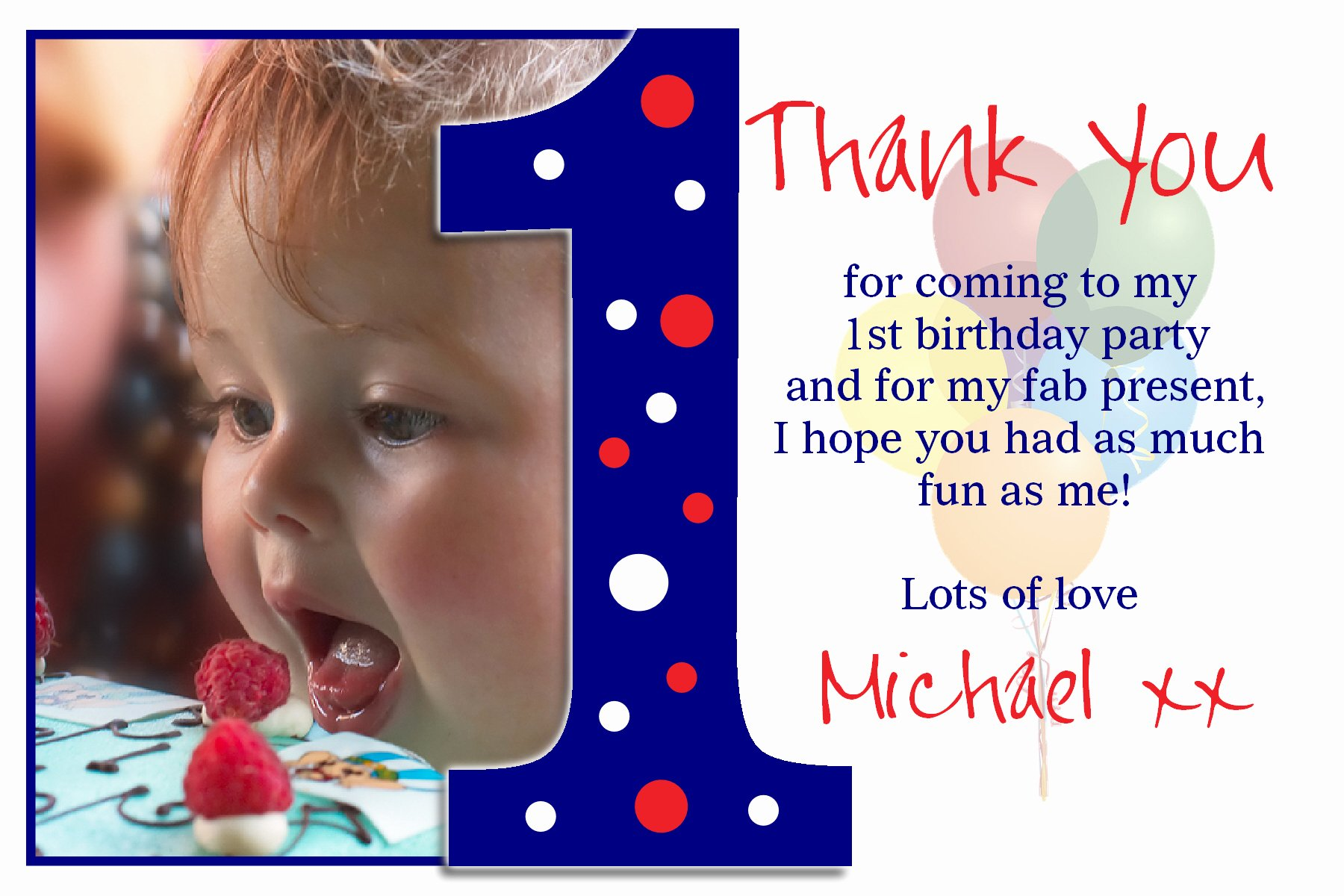 First Birthday Thank You Sayings Elegant 1st Birthday Thank You Quotes Quotesgram