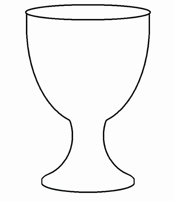 First Communion Banner Printable Templates Luxury Goblet Chalice Template for First Holy Munion Banner