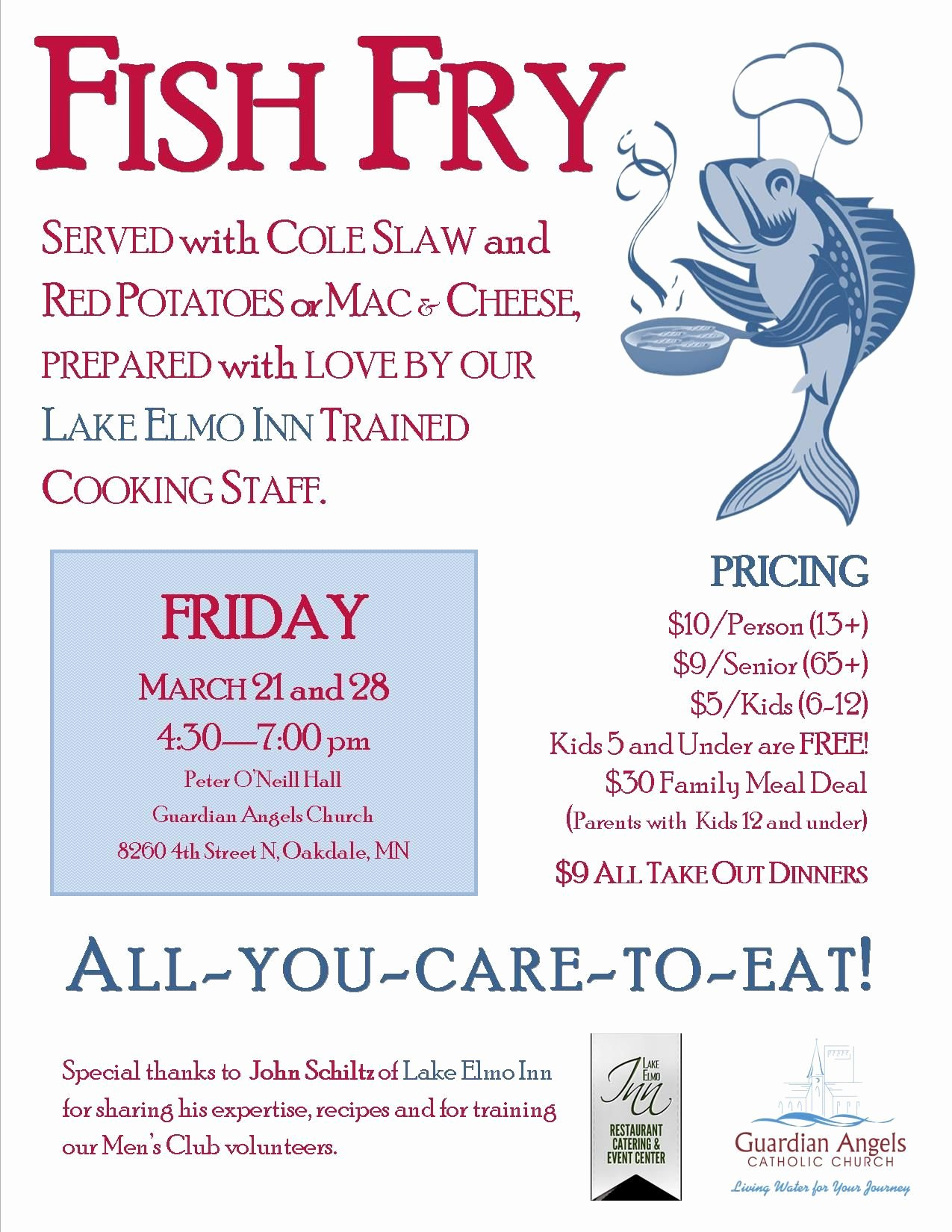 Fish Fry Fundraiser Flyer Awesome Fish Fry event Posters