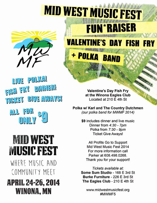 Fish Fry Fundraiser Flyer Beautiful Mwmf 2014 Fun Raiser Valentine's Day Fish Fry and Polka