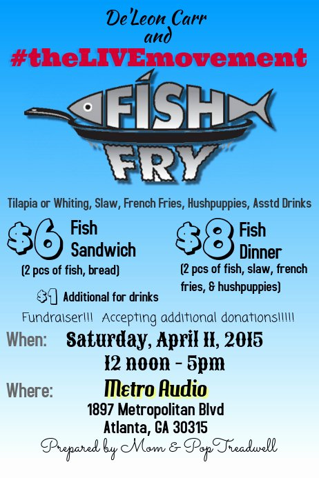 Fish Fry Fundraiser Flyer Elegant Fish Fry Fundraiser Template