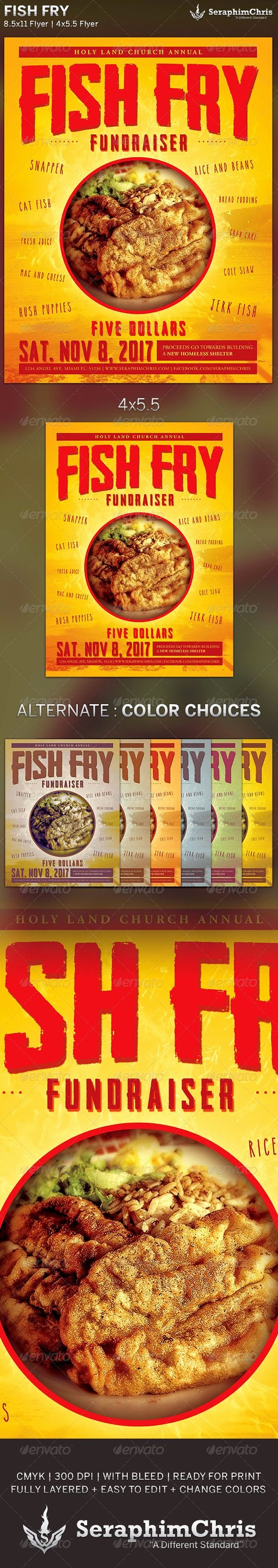 Fish Fry Fundraiser Flyer Lovely Pinterest • the World's Catalog Of Ideas