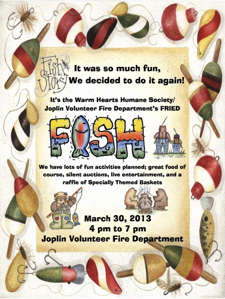Fish Fry Fundraiser Flyer Luxury events