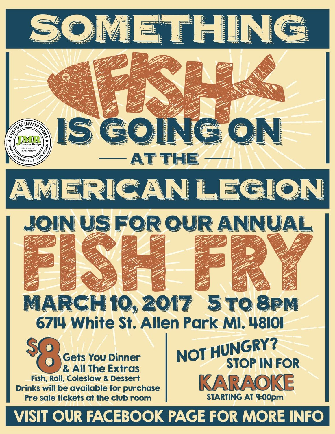 Fish Fry Fundraiser Flyer Luxury Fish Fry Flyer Fish Fry Fundraiser Flyer Benefit Flyer
