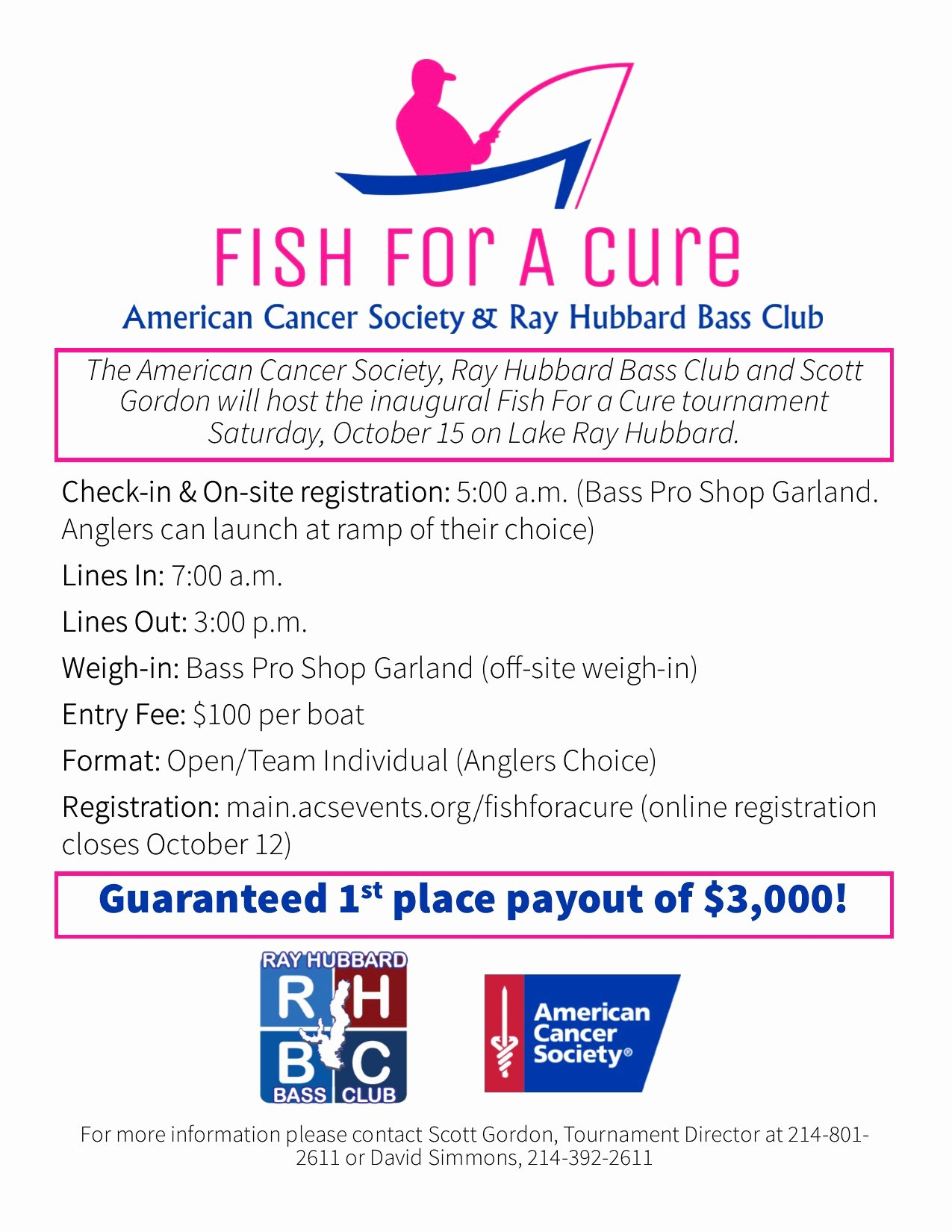 Fish Fry Fundraiser Flyer New Fish for A Cure