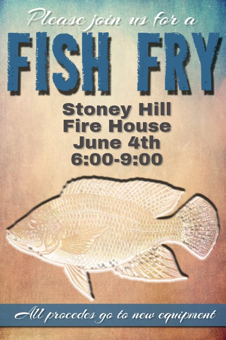 Fish Fry Fundraiser Flyer New Fish Fry Invitation Poster event Flyer Fundraiser Dinner