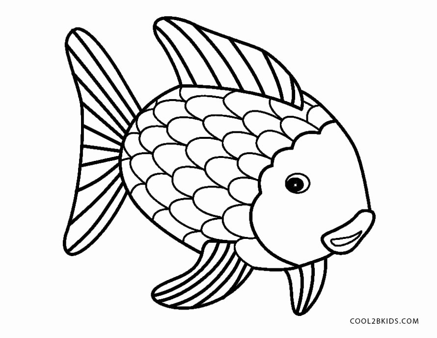 Fish Pictures to Print Awesome Free Printable Fish Coloring Pages for Kids