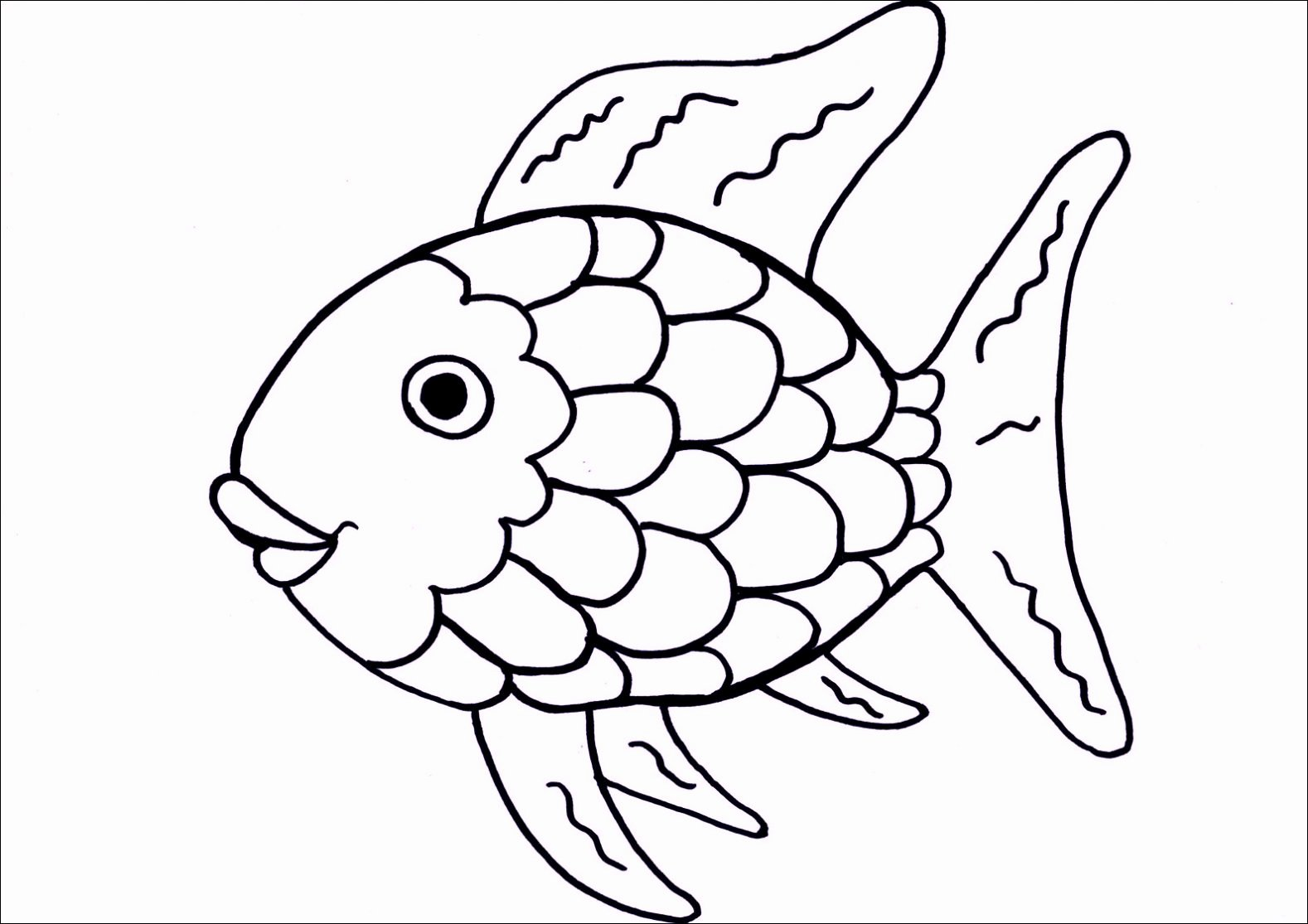 Fish Pictures to Print Beautiful Printable Free Fish Template Pdf