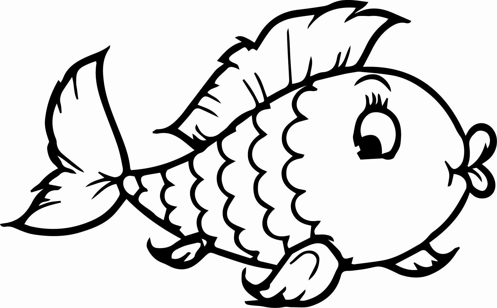 Fish Pictures to Print Unique Fish Coloring Pages Coloringsuite