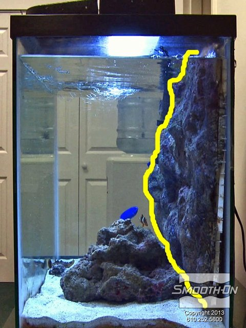 Fish Tank Background Ideas Awesome 1000 Images About 3d Background Aquariums On Pinterest