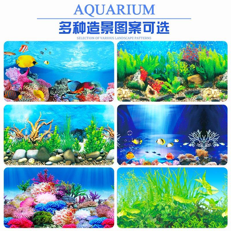 Fish Tank Background Paper Best Of Aquarium Background Sticker Fish Tank Background Paper