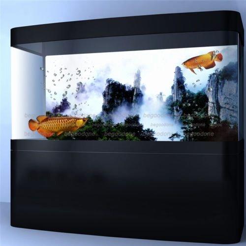 Fish Tank Background Paper Inspirational Mountain View forest Fish Tank Aquarium Background Paper