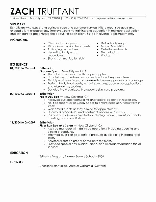 Fitness Manager Cover Letter New 14 15 Spa Cover Letters