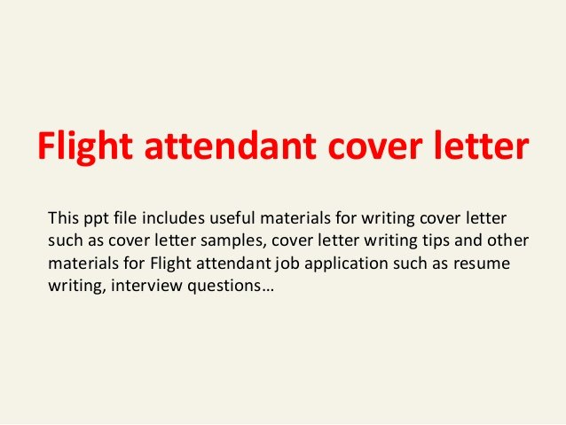 Flight attendant Resume Cover Letter Beautiful Flight attendant Cover Letter