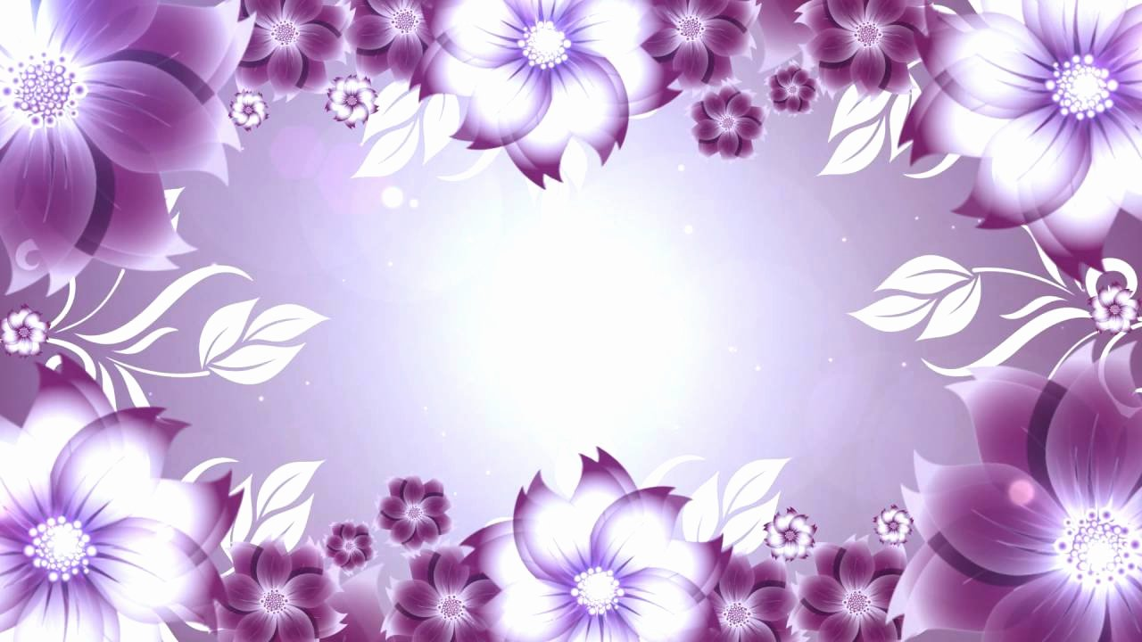 Flower Background Design Images Beautiful Flower Background Full Hd Video Background Motion