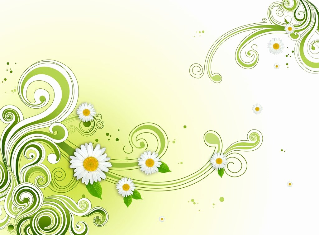 Flower Background Design Images Beautiful Green Floral Flower Background Psd Shop