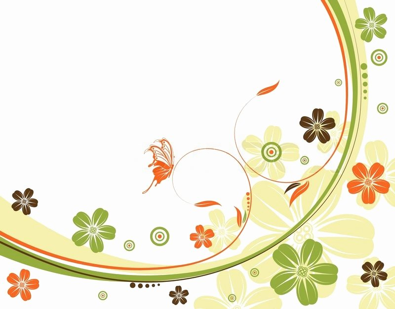 Flower Background Design Images Lovely Flower Background with Wave Pattern