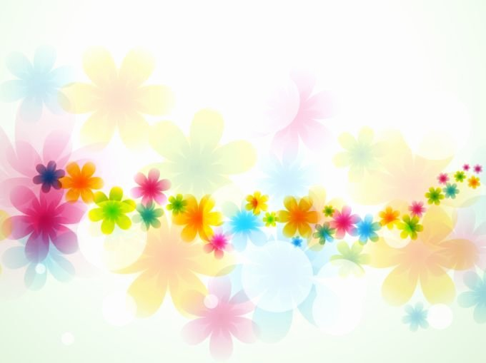 Flower Background Design Images New Light Beautiful Vector Free Background Created From Many