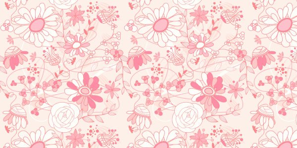 Flower Background Design Images New Pink Flower Background Patterns 26 Free Romantic Floral