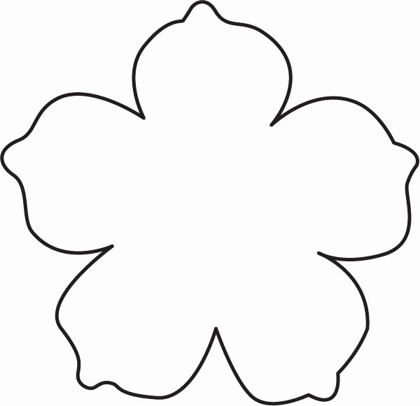 Flower Shapes to Cut Out Best Of Diy Summer Ideas Leather Flowers Free Template