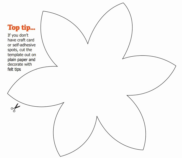 Flower Shapes to Cut Out Lovely 8 Best Flower Templates Images On Pinterest