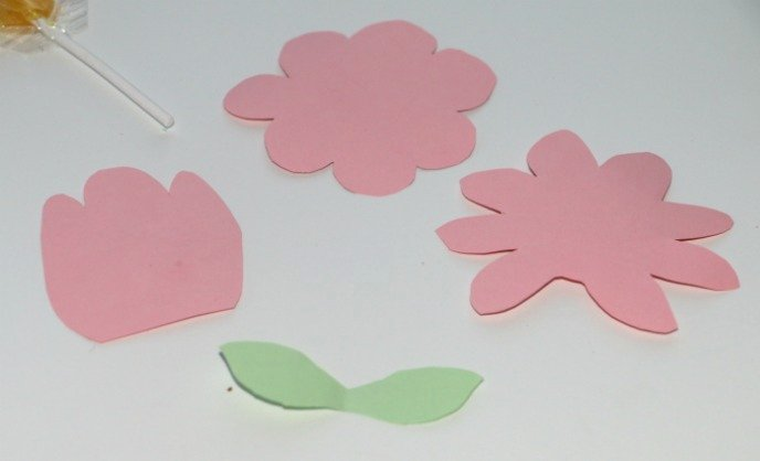 Flower Shapes to Cut Out Luxury Flower Lollipop Craft & Treat Mommy S Bundle