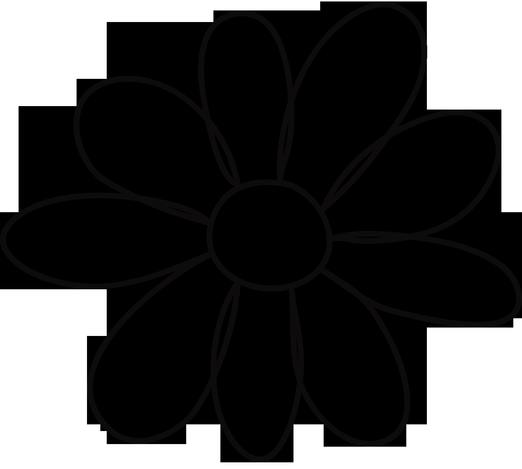 Flower Shapes to Cut Out New 10 Petal Flower Template Clipart Best Clipart Best