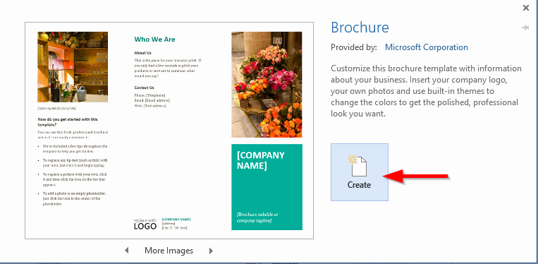 Flyers Templates Microsoft Word Fresh How to Create A Professional Brochure and Flyers Using
