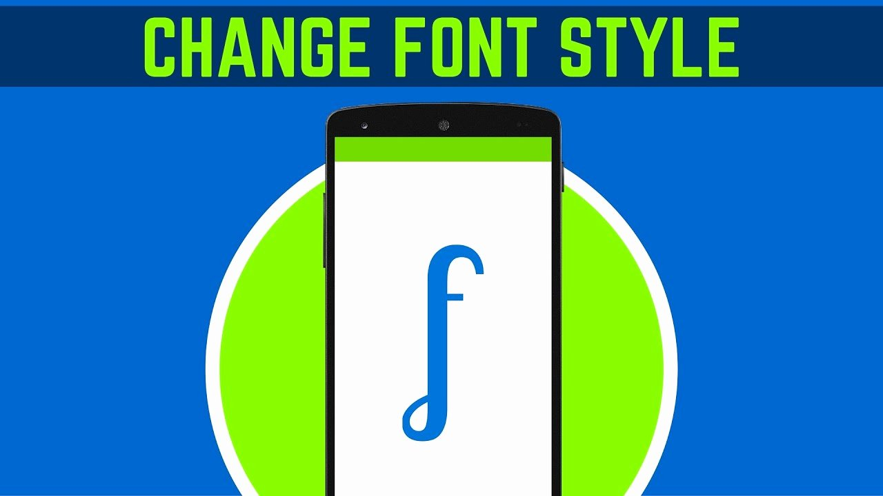 Fonts Style for android Awesome 22 How to Change the Font Style In android Studio
