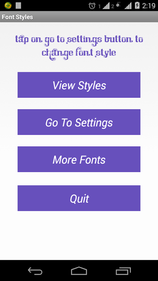 Fonts Style for android Beautiful Font Styles android Apps On Google Play