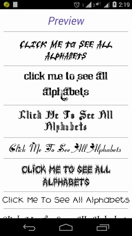 Fonts Style for android Beautiful Font Styles for android Apk Download