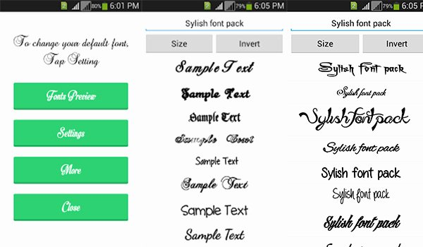 Fonts Style for android Fresh How to Change Font Style On android