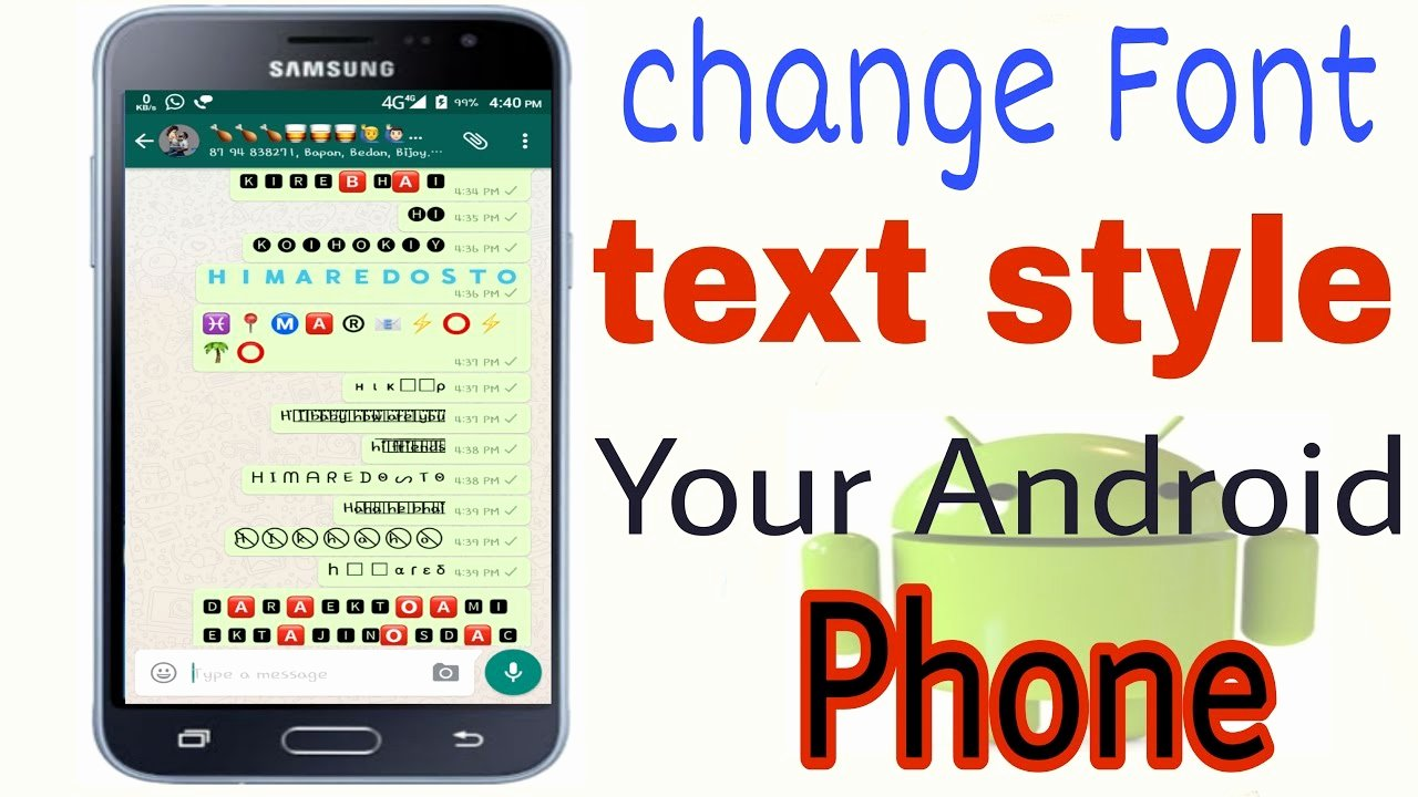 Fonts Style for android Inspirational How to Change Keyboard Text Font Style You android