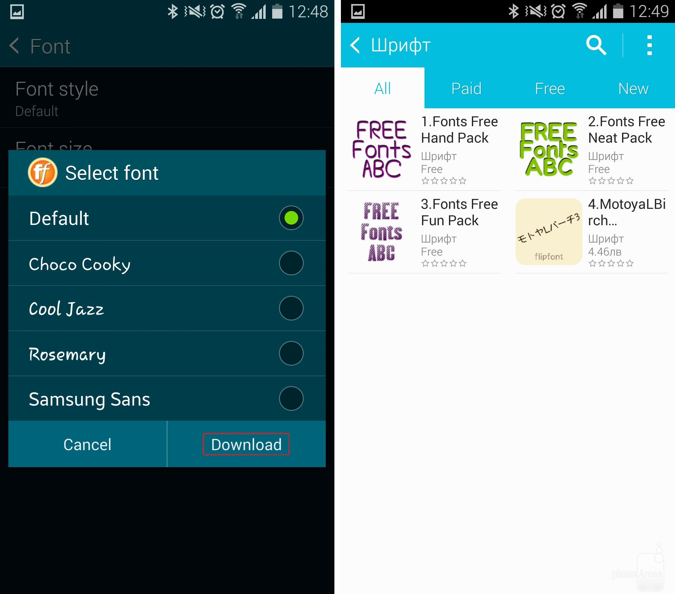 Fonts Style for android New How to Change Fonts On android with or without Root