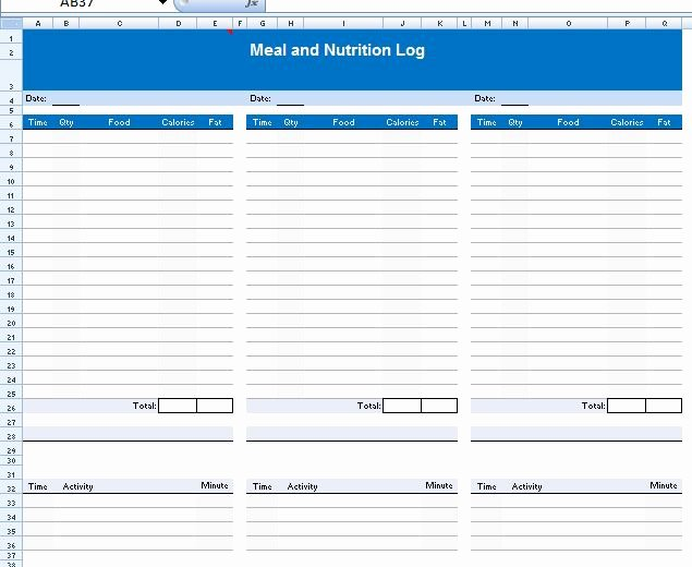 Food Diary Template Word Fresh Best S Of Food Log Microsoft Word Daily Food Diary