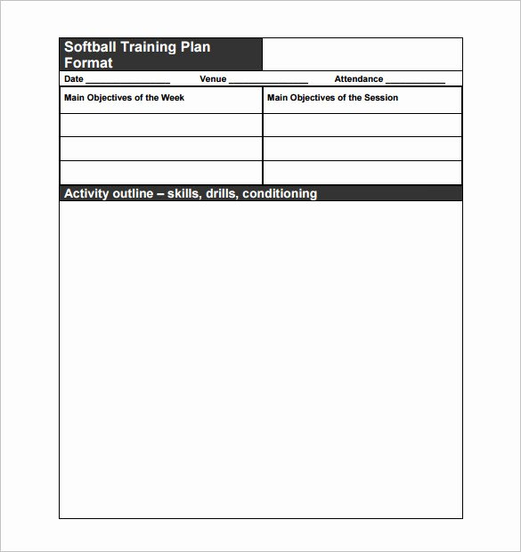 Football Practice Plan Sheet Awesome 15 Practice Schedule Templates Word Excel Pdf
