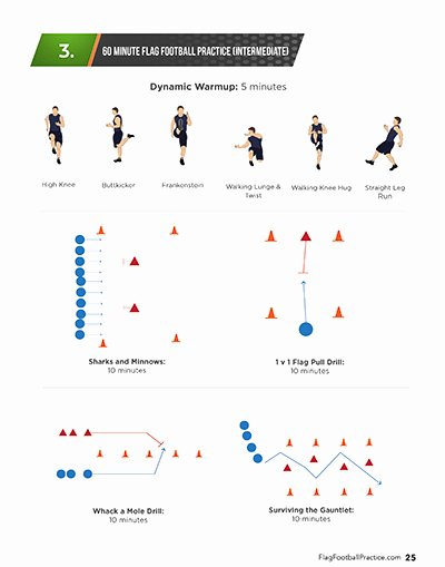 Football Practice Plan Sheet Elegant Print N Go Flag Football Practice Plans – All Around