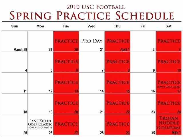 Football Practice Schedule Template Fresh Template Flag Football Practice Plan Template Schedule