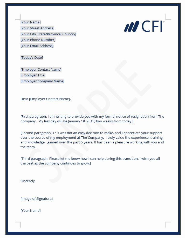 Form Letter Of Resignation Awesome Resignation Letter How to Write A Letter Of Resignation