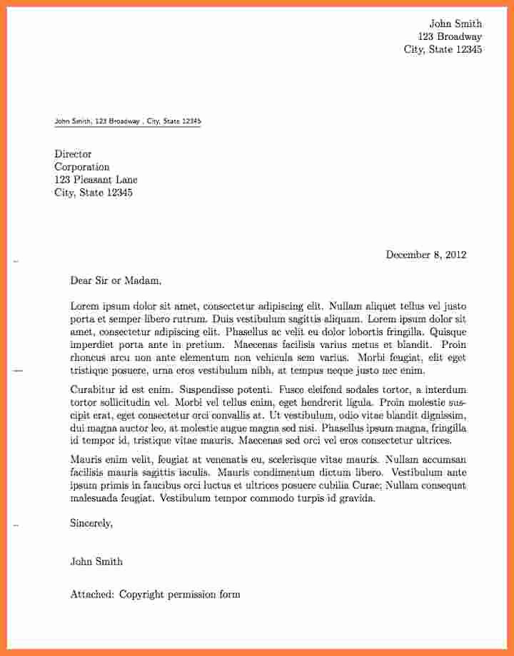 Formal Letter Heading Example Fresh 6 formal Letter Heading
