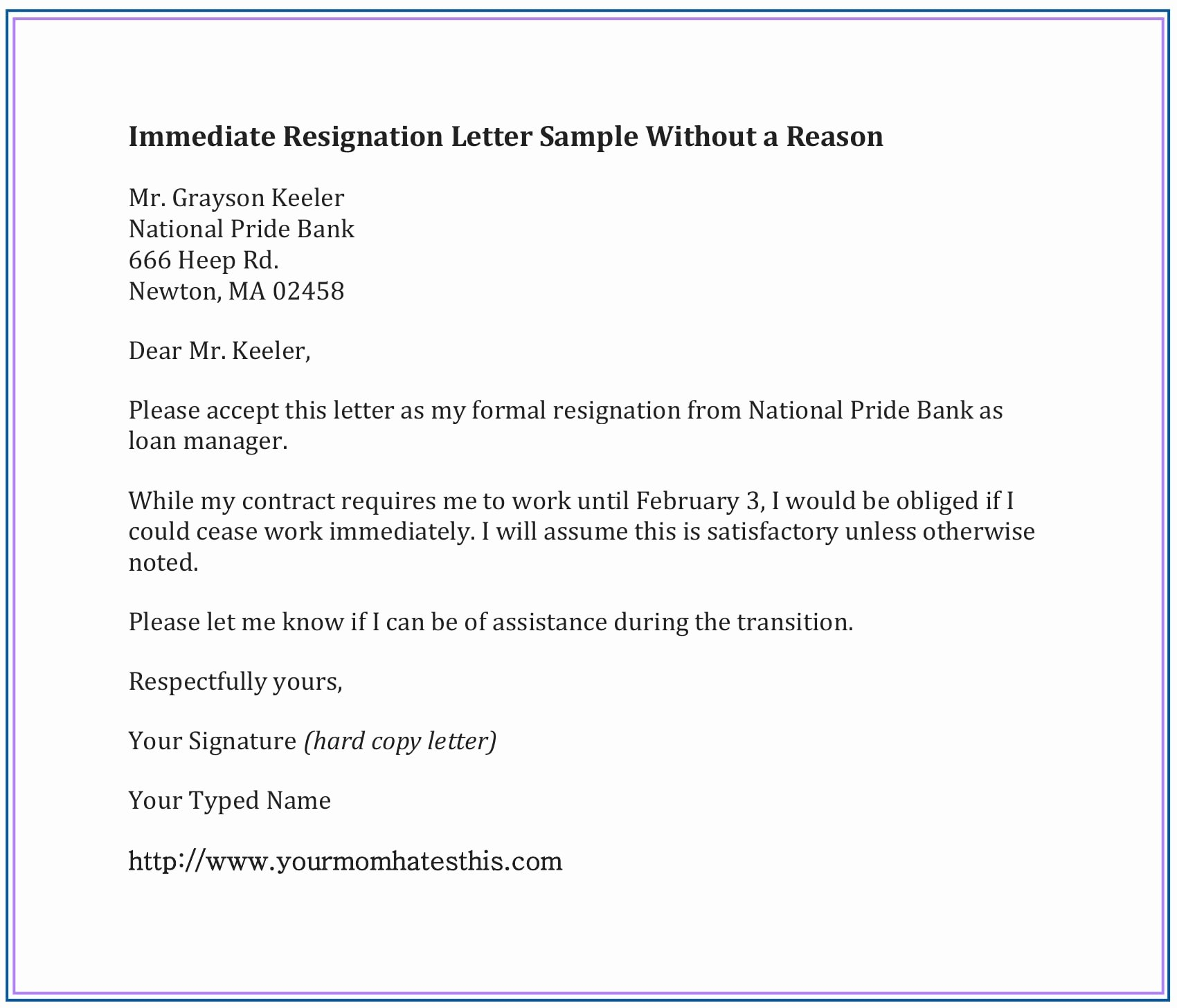 Formal Letters Of Resignation Unique Dos and Don'ts for A Resignation Letter