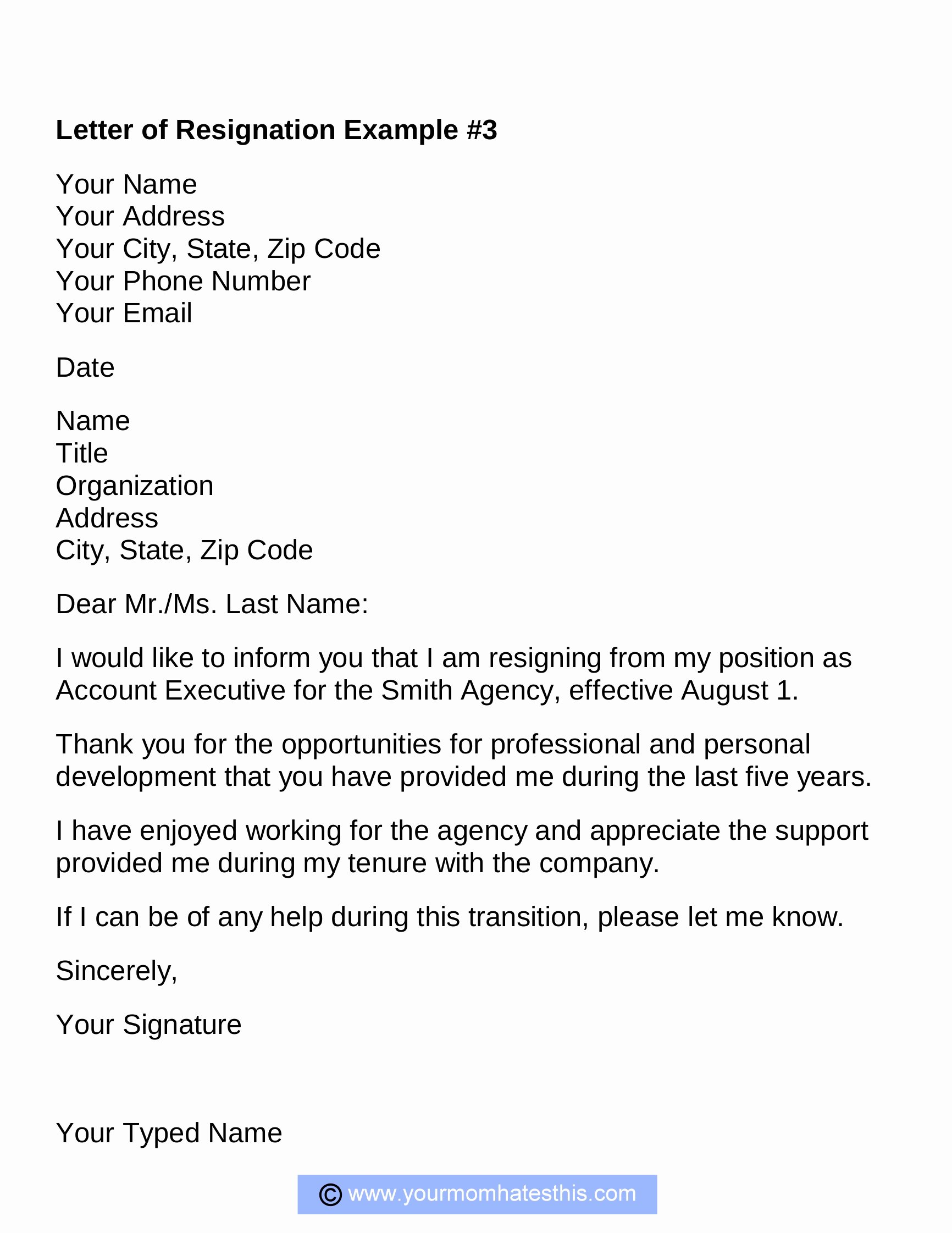 Formal Resignation Letters Sample Elegant Resignation Letter Samples Download Pdf Doc format
